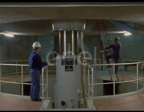 Albero della turbina e tecnici