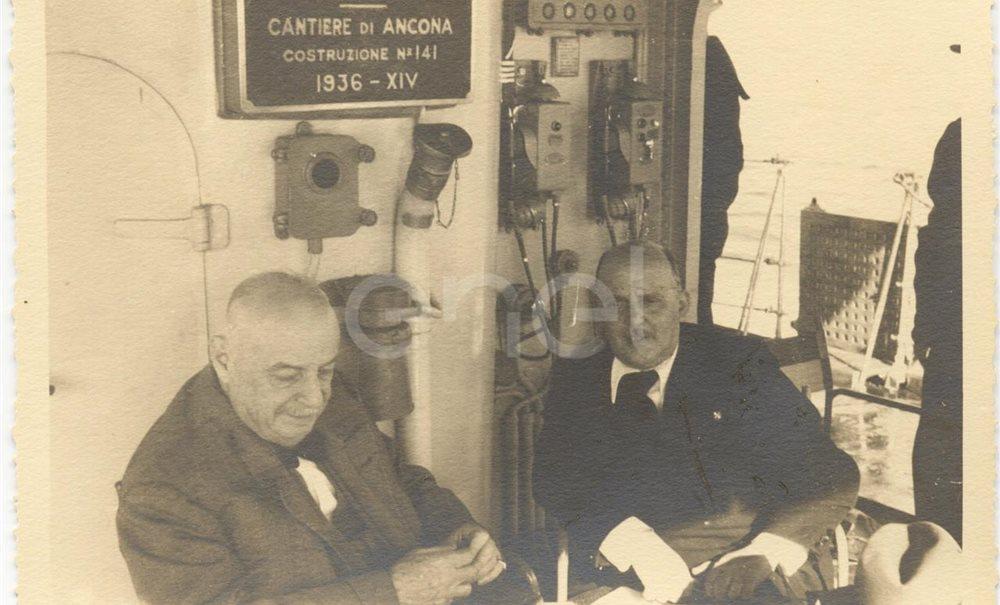 Viaggio in torpediniera da Messina a Vulcano. 1937