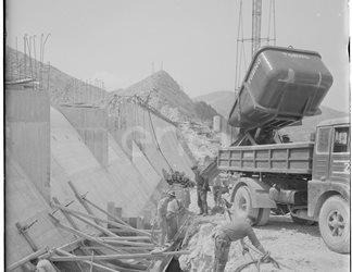 Cantiere della diga
