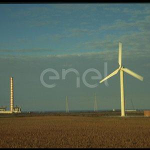 Aerogeneratore e centrale