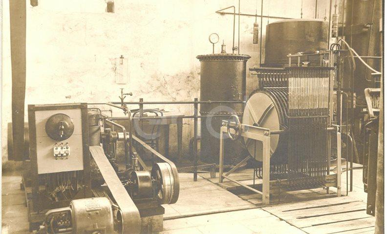 Impianto elettrolitico ossigeno-idrogeno