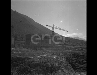 Cantiere della centrale di Capriati
