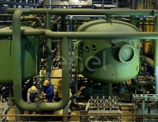 Russia. Centrale termoelettrica di San Pietroburgo