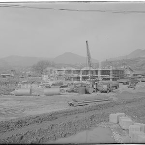 Centrale di Mercure in costruzione