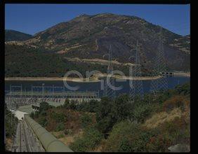Condotta forzata, stazione elettrica di trasformazione e bacino inferiore