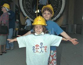 Turbina e bambini