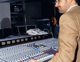 "mixer audio della sala ""Avogadro"""