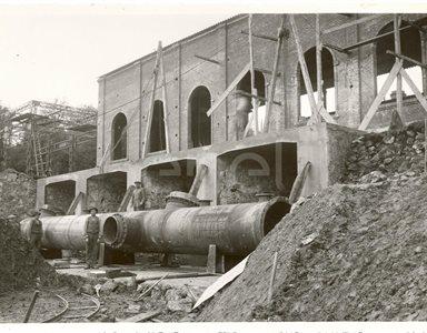 Nuova centrale elettrica di Serrazzano