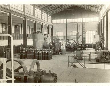 Impianto anidride carbonica. Anni 1924/1926/1937