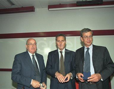 C. Testa, F. Rutelli e il Rettore