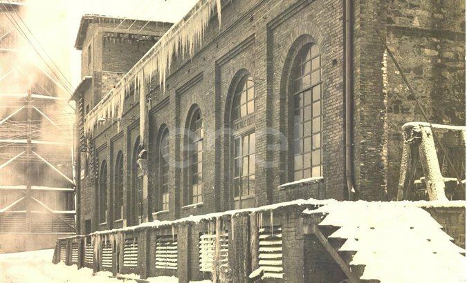 Centrale elettrica n° 1 dal 1924 al 1939