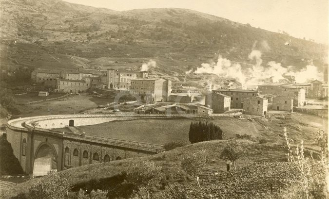 Panorami. Larderello 1900-1918