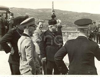 Larderello. Larderello. Visite sigg.Legnaioli, Gioncada, Ministri Cobogli, Gigli, Lentini, Buffarini, etc. 1935/1939