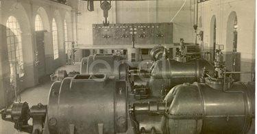 Centrale elettrica n° 1 dal 1917 al 1923
