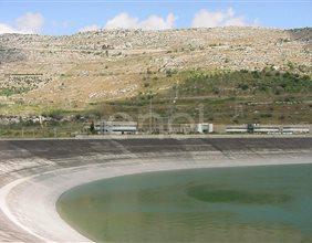 Veduta del bacino di Monte Cavallaro