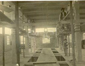 Centrale elettrica n° 1 dal 1913 al 1916