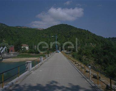 Camminamento della diga