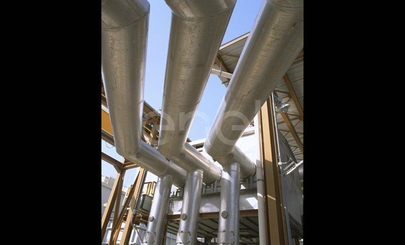 Sistema di tubazioni dell'impianto di trasformazione
