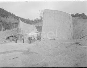 Pozzo piezometrico in costruzione