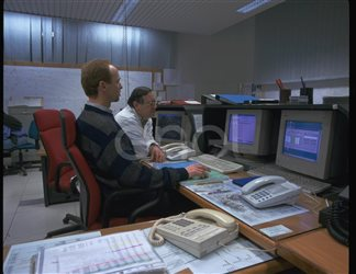 Operatori in sala operativa